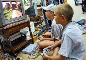 bambini videogame