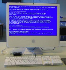 schermata blu della morte
