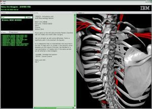 ibm 3d body avatar