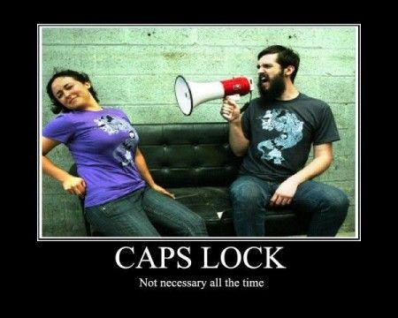 Caps Lock Google