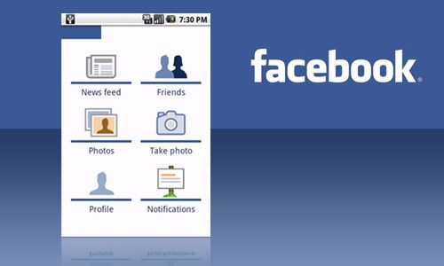 Facebook per Android2