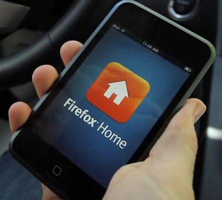 Firefox Home iPhone