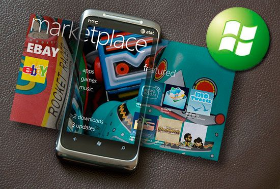 Marketplace windows phone 7