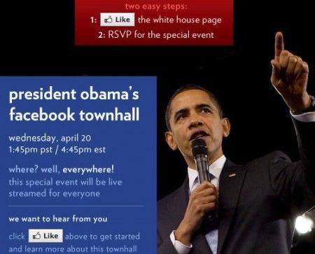 Obama facebook Town hall