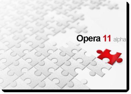 Opera 11 browser