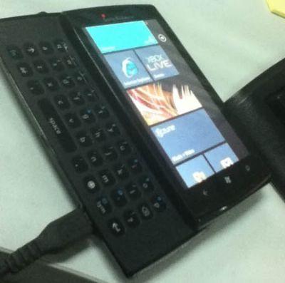 Sony Ericsson Windows Phone 7 prototipo
