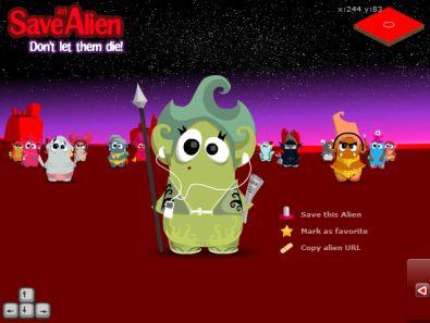 save an alien