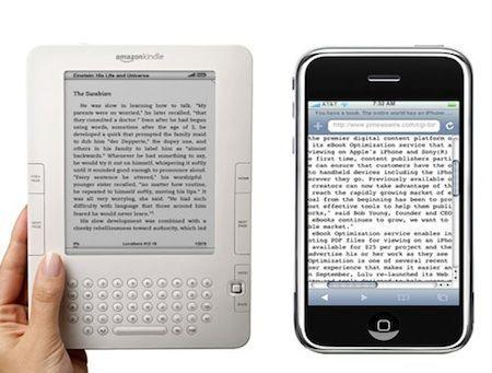 Il lettore Kindle di Amazon, dopo iPhone approderà anche su Android