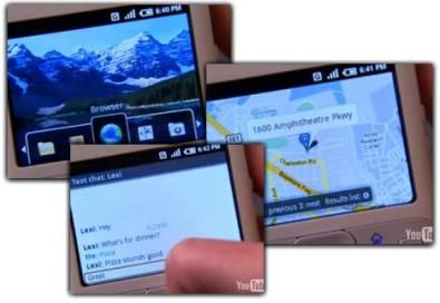 Android video screenshot