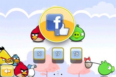 angry birds facebook