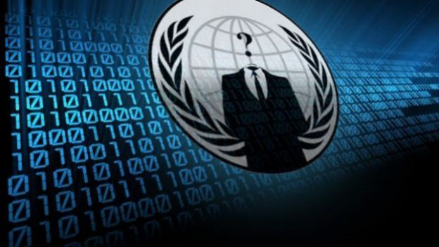 anonymous facebook video attacco