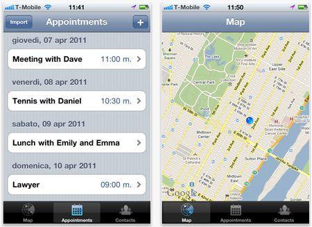 app iphone appuntamento arriving soon