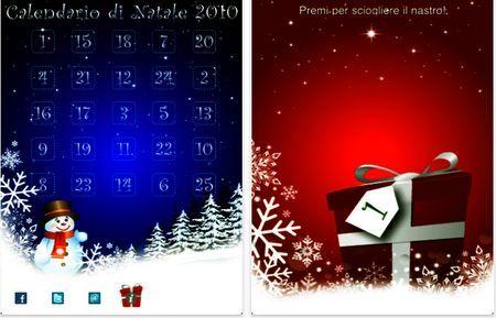 app iphone natale 2010