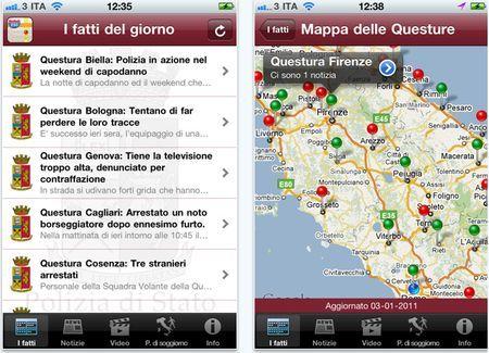 app iphone polizia di stato