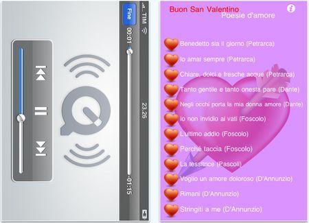 app iphone san valentino