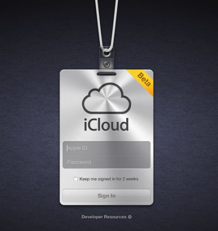 apple icloud sito