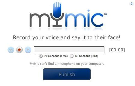 audio facebook mymic