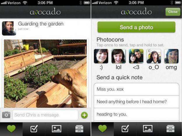 avocado app iphone