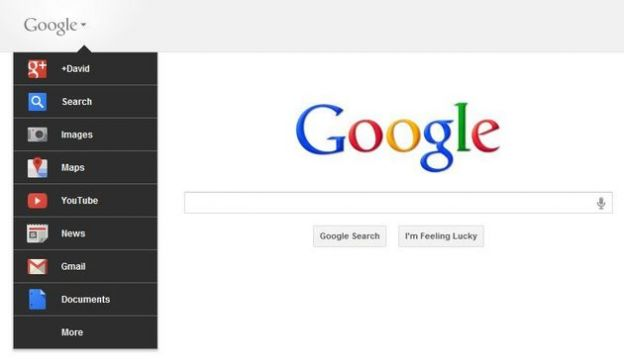 barra google nuovo design anteprima