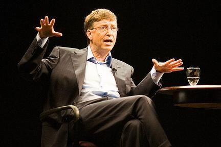 Bill Gates vs Silvio Berlusconi