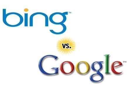 bing versus google 2