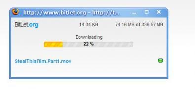 Bitlet screenshot