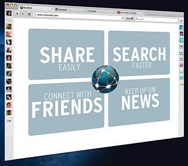 browser facebook rockmelt