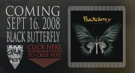 BuckCherry, il sito