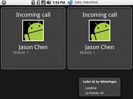 Caller ID per Android