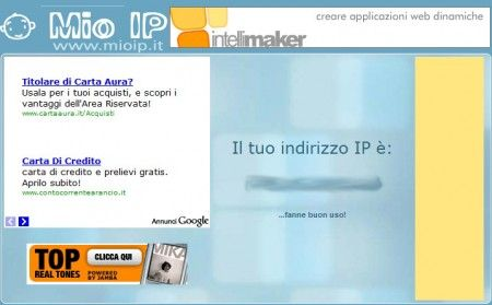 cambiare IP mioip