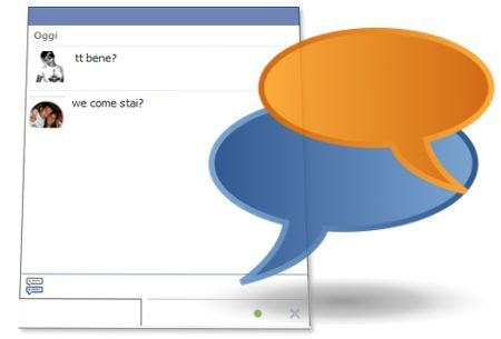 chat facebook online amici