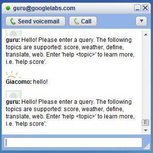 chat google guru