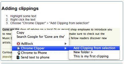 chrome clipper