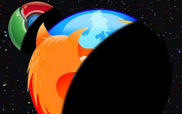 chrome firefox browser mozilla