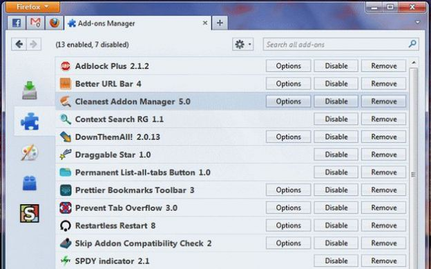 cleanest addon manager