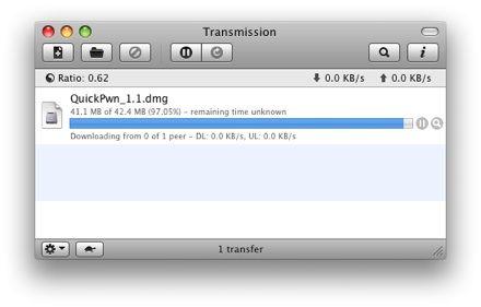 client torrent transmission