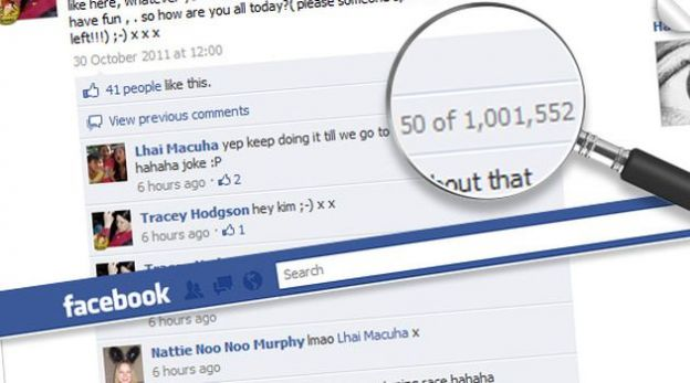 commenti facebook record