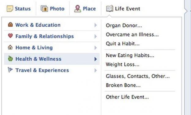 donatore di organi timeline facebook