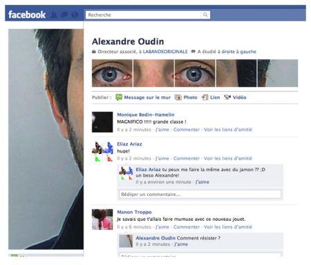 facebook alexandre oudin profile maker