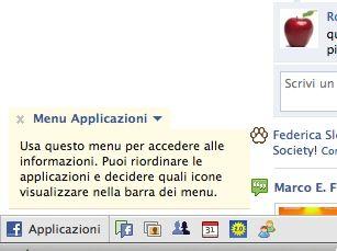 facebook, applicazioni