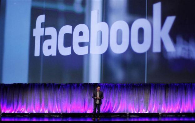 Facebook Vice President of Product Cox delivers a keynote address at Facebook's