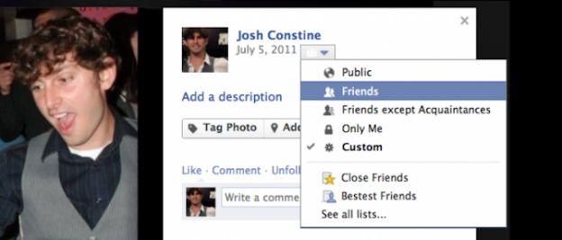 facebook foto privacy