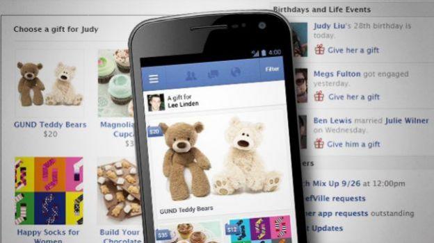 facebook regali italia