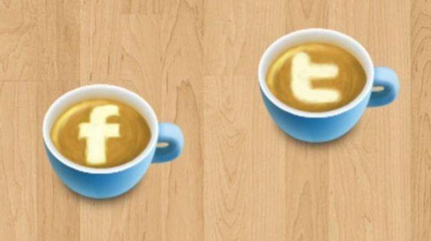 facebook twitter pagamenti social american express