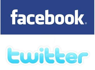facebook twitter social network
