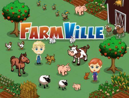 Facebook Farmville Zynga