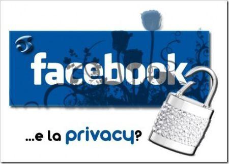 facebook privacy molestie