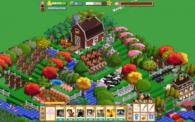 farmville 2 facebook