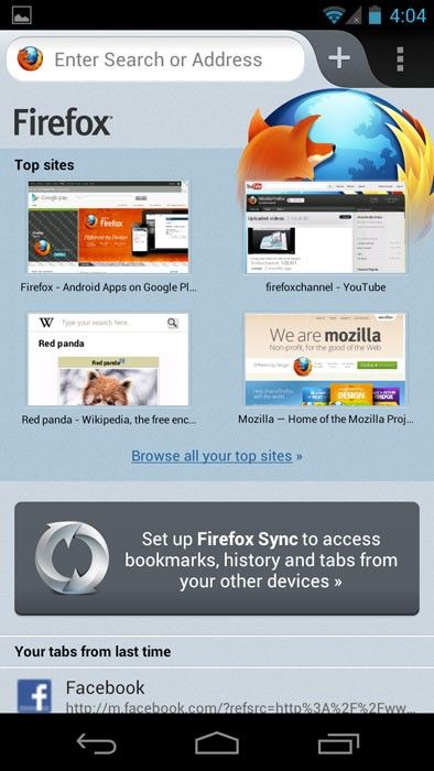 firefox 14 0 android