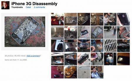Flickr: iPhone devastato